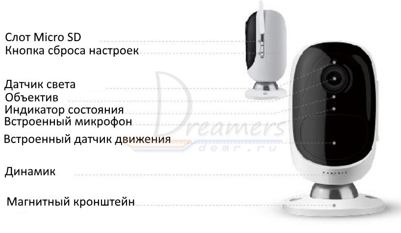 Инструкция по настройке камеры Reolink Argus